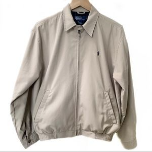 Vintage Polo by Ralph Lauren khaki jacket #